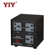 yiyen 1000w step down voltage transformer 220v to 110v voltage converter made in china
