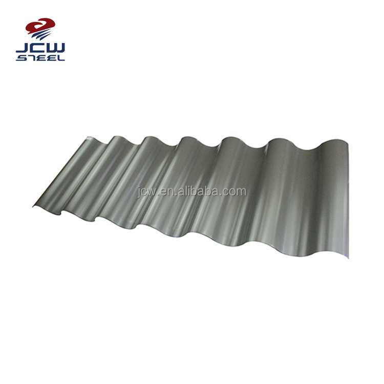 Commercial Size of GI Sheet Philippines for Metal Roof Standard Size of Corrugated GI Sheet
