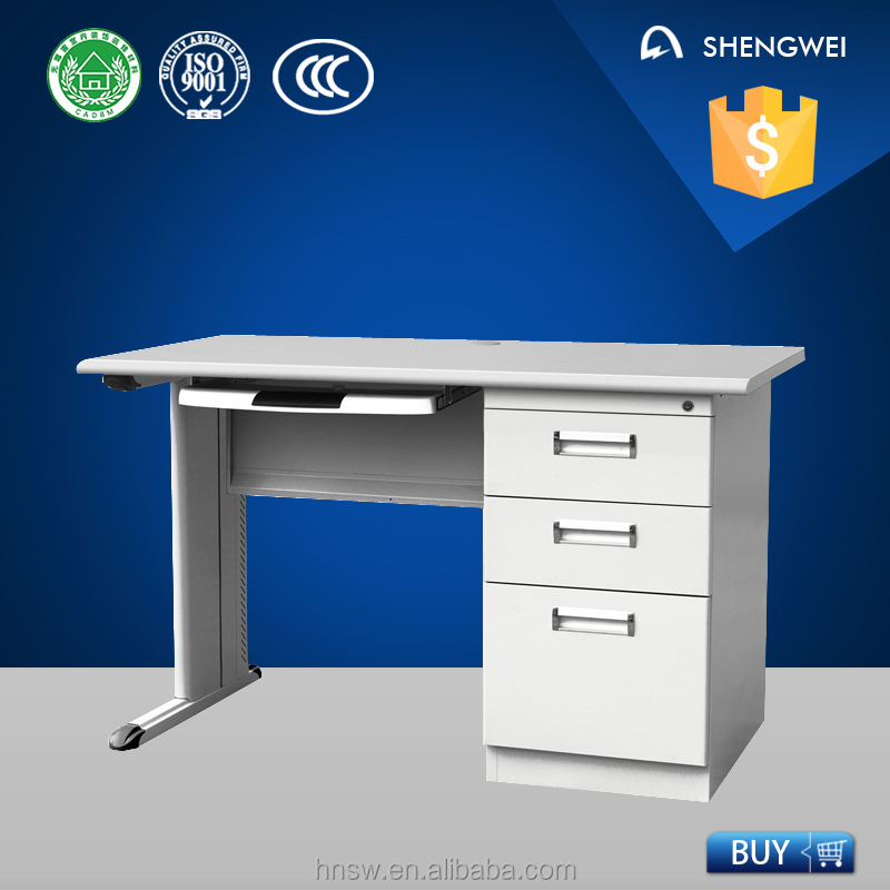Customised China factory steel computer table models with prices