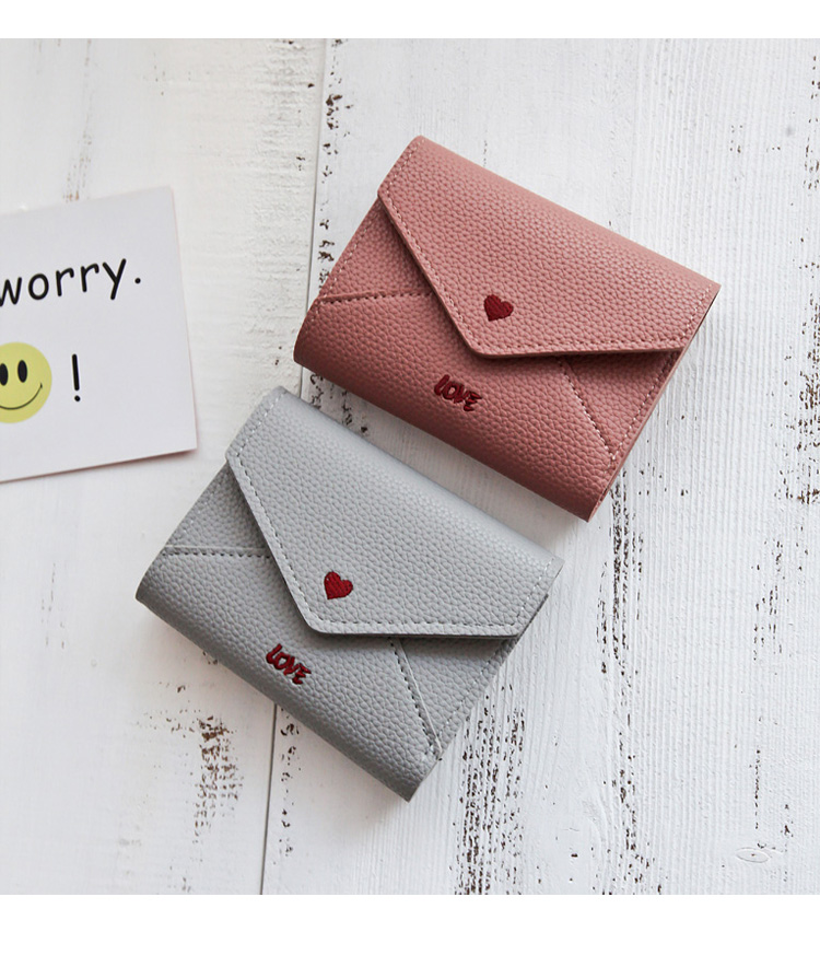 2017 OEM Wholesale Trend custom designer cheap New Model multicolor PU leather young tri-fold ladies wallet