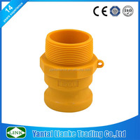 nylon part f cam and groove couplings male npt thread adapter