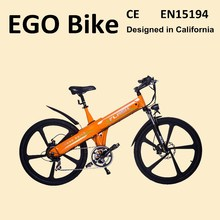Haoling Lightweight Aluminum alloy frame electric motor road bike, electric off road bike