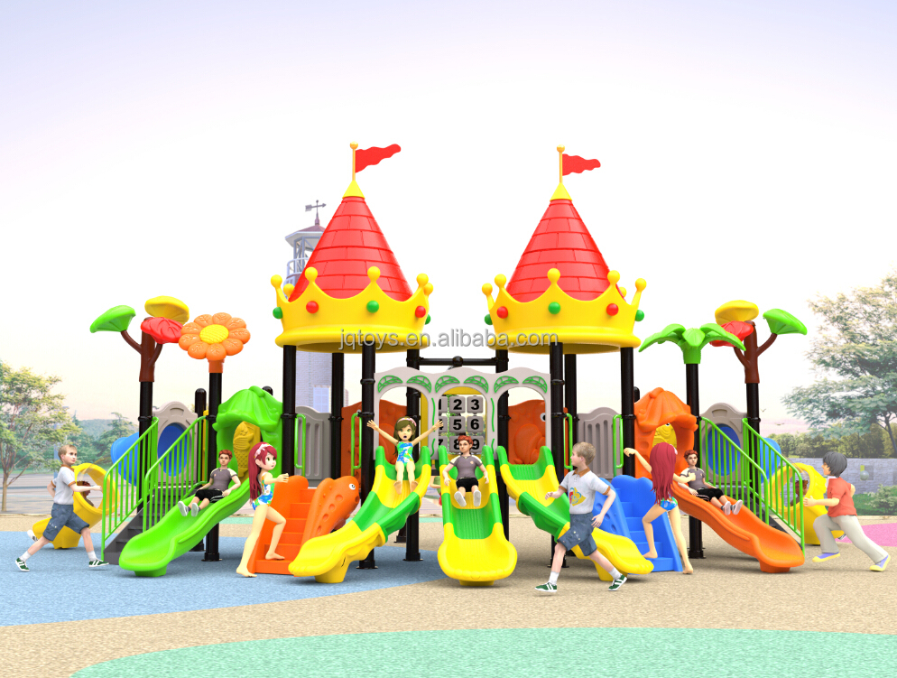 2016 used attractive daycare outdoor homemade playground equipment for sale