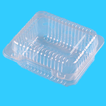 High quality Transparent plastic bliter fruit box with cover
