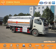 DONGFENG 4X2 small oil tank truck 8000L cheap price made in China oil tanker ship sale