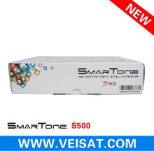 new receiver smartone s500 with HD free channels support free iks&sks for brazil market