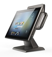 Micropos T15 15 inch capacitive/resistive lcd touch monitor 10 points touch monitor
