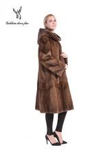 Factory Hot sale cheap price real fur coat 100% real mink fur coat for women