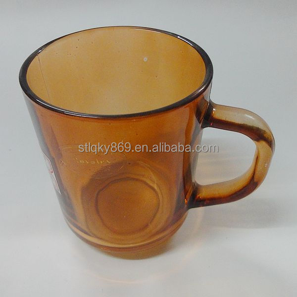 250ml colored glass new product cheap dinnerware wholesale dinnerware cheap indian tea set with handle