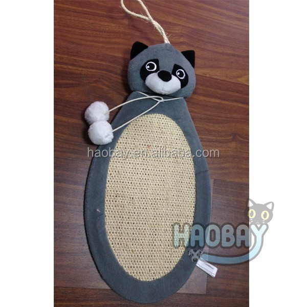Funny mouse deign scratching carpet sisal mat