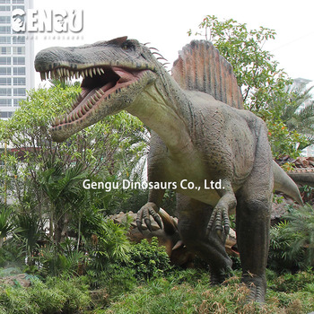 amazing Amusement Park Equipment animatronic dinosaur Allosaurus