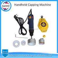 Handheld electric capping machine,adjustable screw capper, easy operation capping machine