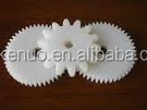 uhmwpe plastic gear/cam/impeller/roller/pulley/bearing/bushing/cutting shaft/spacer/gasket/nozzle/mixing blade/screw