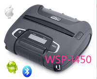 4'' mini usb thermal mobile receipt printer Woosim WSP-I450 for android & iOS