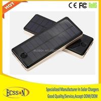 New 5V 10000mAh solar wireless mobile phone charger with good quality