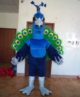 hot sale good quality peacock mascot adult peacock costume peacock mascot costume