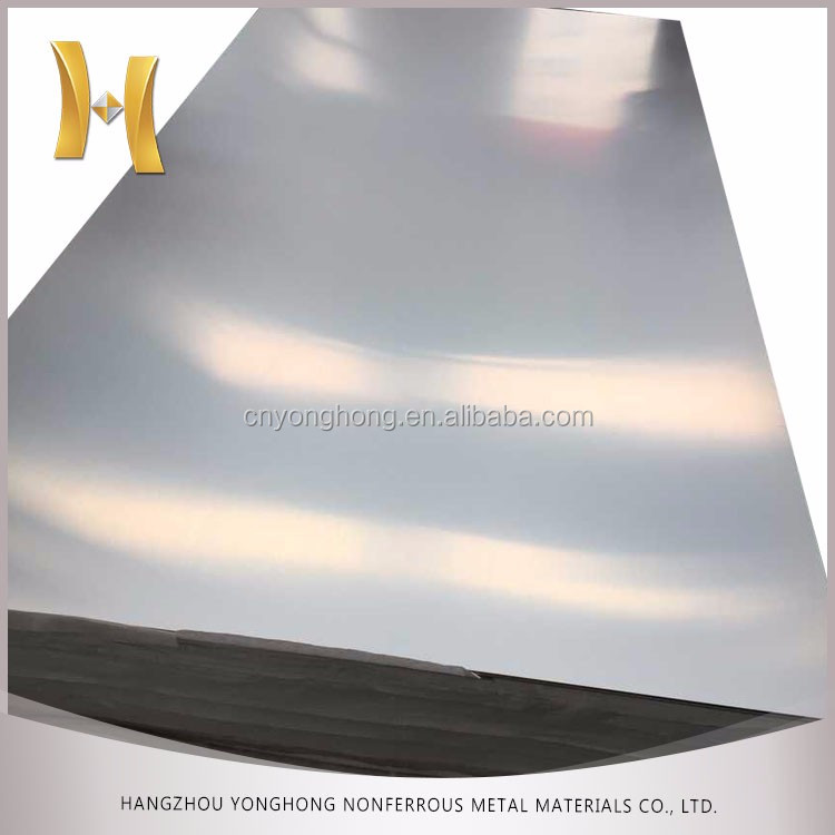 5005 5052 H38 anodized aluminum sheet price for wall panel