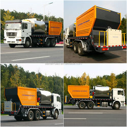 Top quality Truck mounted ZQZ5250TFC spreader spraying/Synchronous Chip Sealer for Road