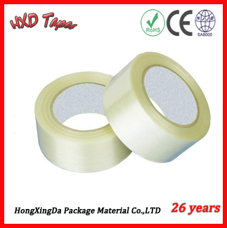 For Carton Sealing Packaging Round Adhesive Bopp Tape with free samples worldwide