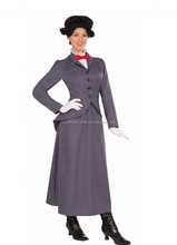 Adult Ladies Victorian Costume Mary Poppins Chimney Sweep Bert Fancy Dress Costumes AGC4057