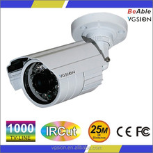 Outdoor 1000TVL CCTV Camera 1.3MP IR Bullet Analog Camera