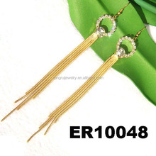 gold plated earrings fake gold jewelry wholesale