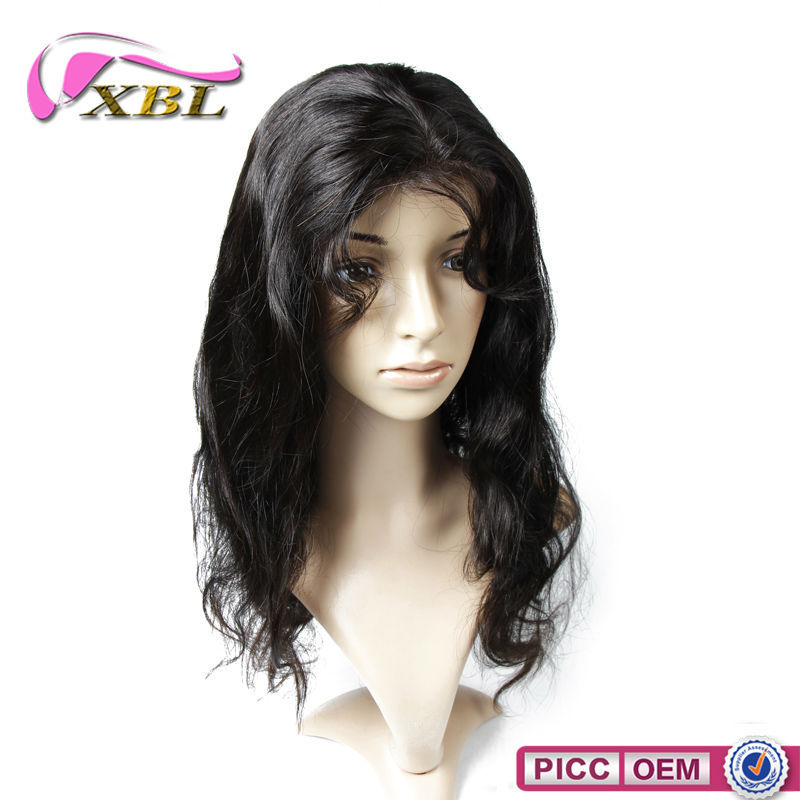 Soft And Smooth Afro American 100% Hair Full Lace Wig