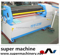 asymmetrical plate rolling machine W11F series for sale,3 roll calender rubber machine