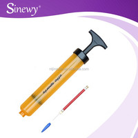 Plastic Hand Air Ball Pump And Needle
