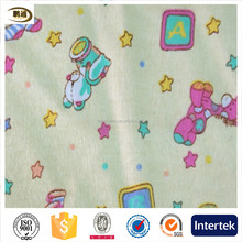 100% cotton flannel fabric for baby bedding flannel fabric textile from hebei