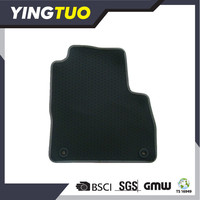 YT073 china tpr/xpe/pvc/pe car mat 3pc/4pc carpet