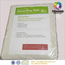 10oz pvc dot canvas drop cloth