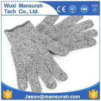 POWERTY safety work gloves EN 388 13 guage nylon coated pu on palm2015 new product