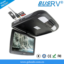 10.1 inch HDMI flip-down led backlight car monitor