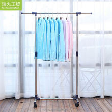HangZhou modern OEM design clothes stand metal hangers and racks