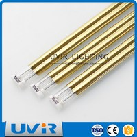 Golden Coated Infrared Paint Drying Light 2400 mm