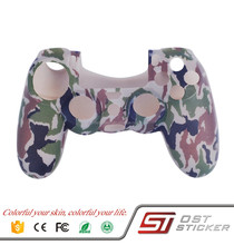 waterproof jungle camo silicone cover case for ps4 controller