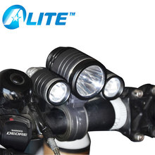 Rechargeable Battery Power Supply 1800 Lumen LED Bicycle Front Light