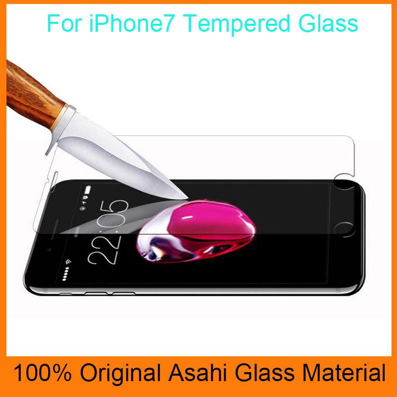 Screen protector for mobile phone protective screen,glass tempered film for i7