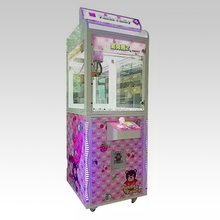 Card Opeated Arcade Mini Toy Candy Claw Grabber Prize Tempered Glass Crane Automated Vending Machine