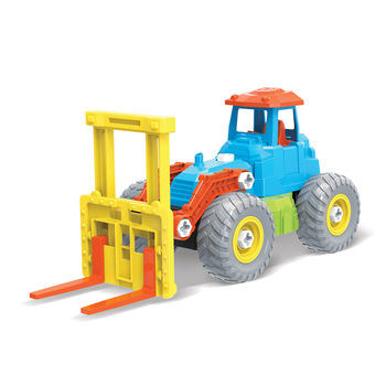 Toys children's diy assemble toy model car construction truck friction function