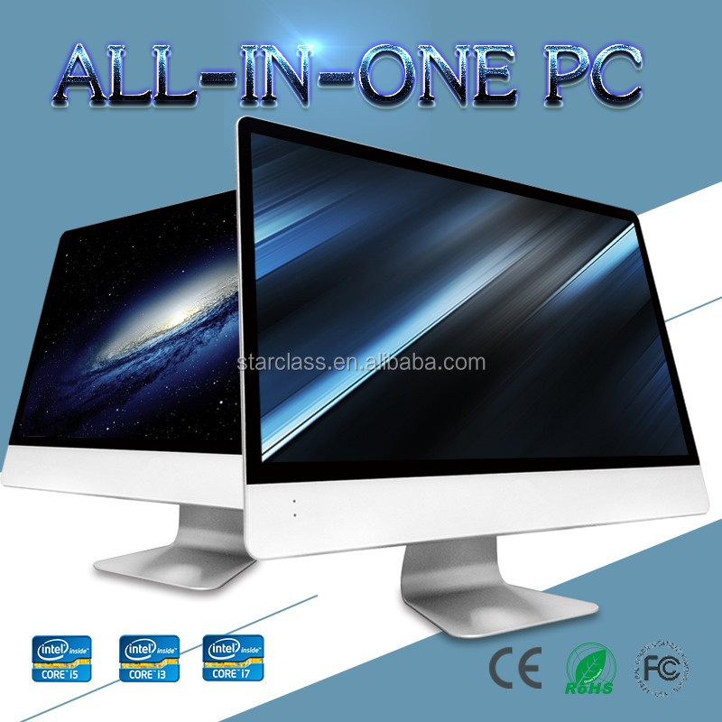 "Perfect combination of Quality and userfriedly 21.5 ""celeron g3900 CPU 4GB memory 500GB HDD Desktop Computer all in one PC"