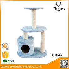 Simple Luxury Indoor Cat Play Tree Mixed Cat Bed