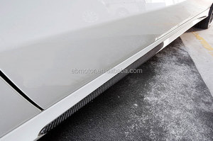 Real Carbon Fiber OE-Style Side Skirts Fit For A-CLASS W176 A176 A250 A200 A45 Amg Pakage 1PAIR M076