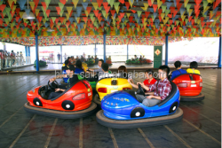 One Kid 3-8 Amusement Park Rides Children Electric Bumper Car for Sale