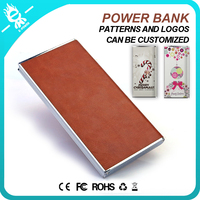 wholesale slim colorful powerbank charger portable power bank 8000mah