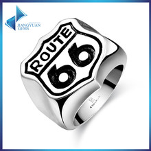 luck stainless steel finger ring rings design for men with price