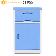 High Quality ABS hospital Nursing bedside table ABS hospital cabinet
