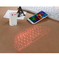 Wireless Bluetooth phone keyboard for IPAD Tablet infrared laser virtual projection keyboard Magic