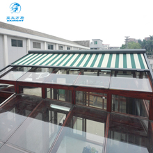 WM-T820 villa project retractable rooftop electric patio canopy